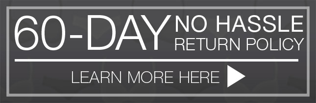 60 day hassle free return policy